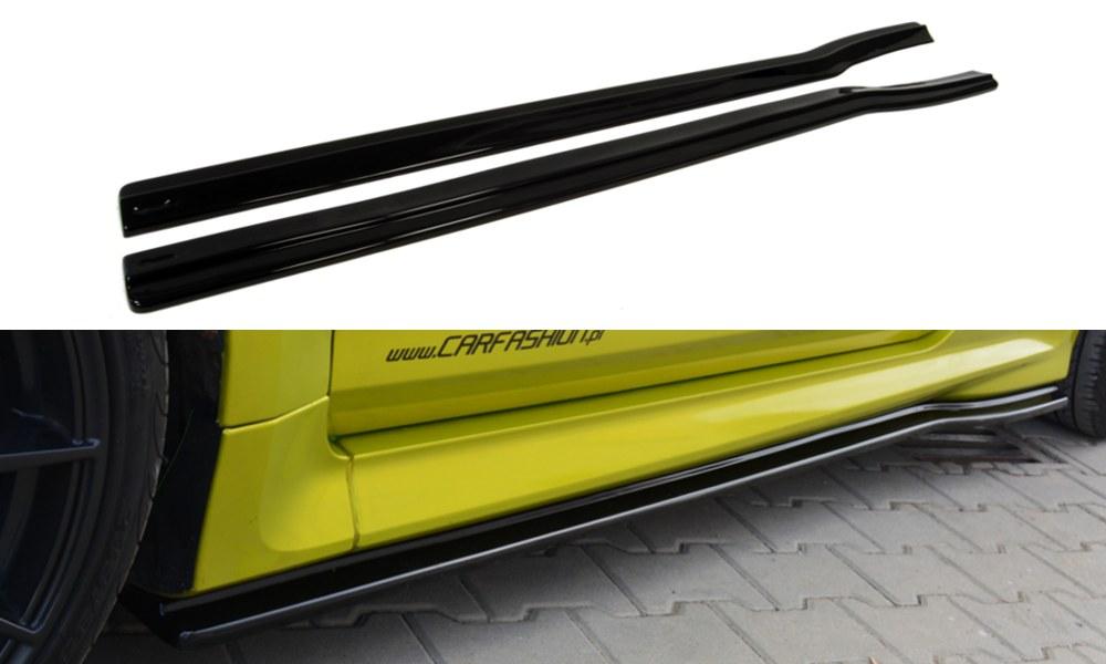 Dokładki Progów Ford Focus MK2 RS - GRUBYGARAGE - Sklep Tuningowy